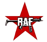 Logo der RAF