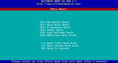 Ultimate Boot CD