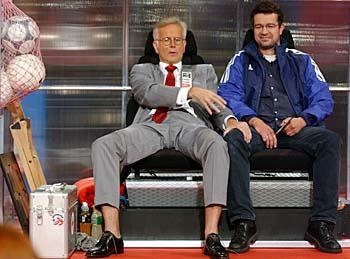 Harald Schmidt und Manuel Andrack
