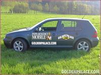 GoldenPalace.com Popemobile