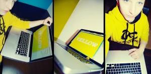 Sabine: Yellow/Notebook