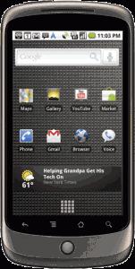 Nexus One (Bild von der offiziellen Webseite)