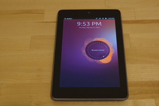 Ubuntu Touch Developer Preview auf dem Nexus 7