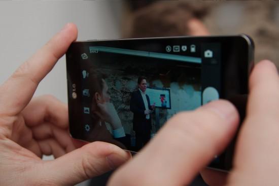 LG Optimus G Kamera