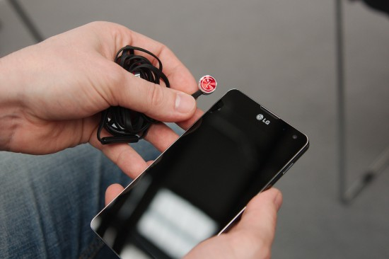 LG Optimus G Headset
