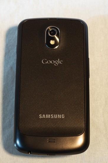 Samsung Galaxy Nexus Rückseite