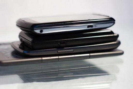 Galaxy Nexus Grössenvergleich