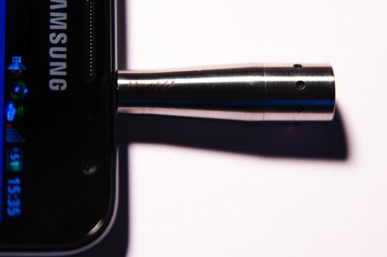 micW i266 am Samsung Galaxy Note