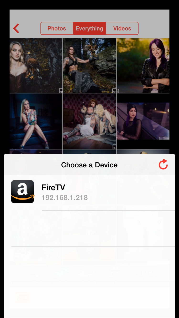 Allcast für iOS