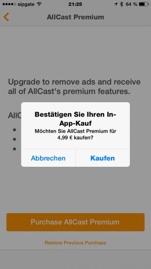 Allcast Premium