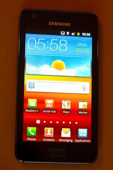 Samsung Galaxy R Vorderseite