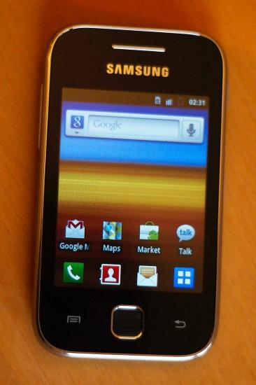 Samsung Galaxy Y Vorderseite