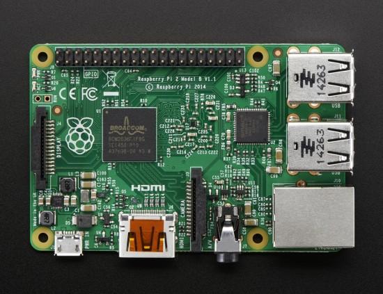 Raspberry Pi 2 (Foto: adafruit.com)