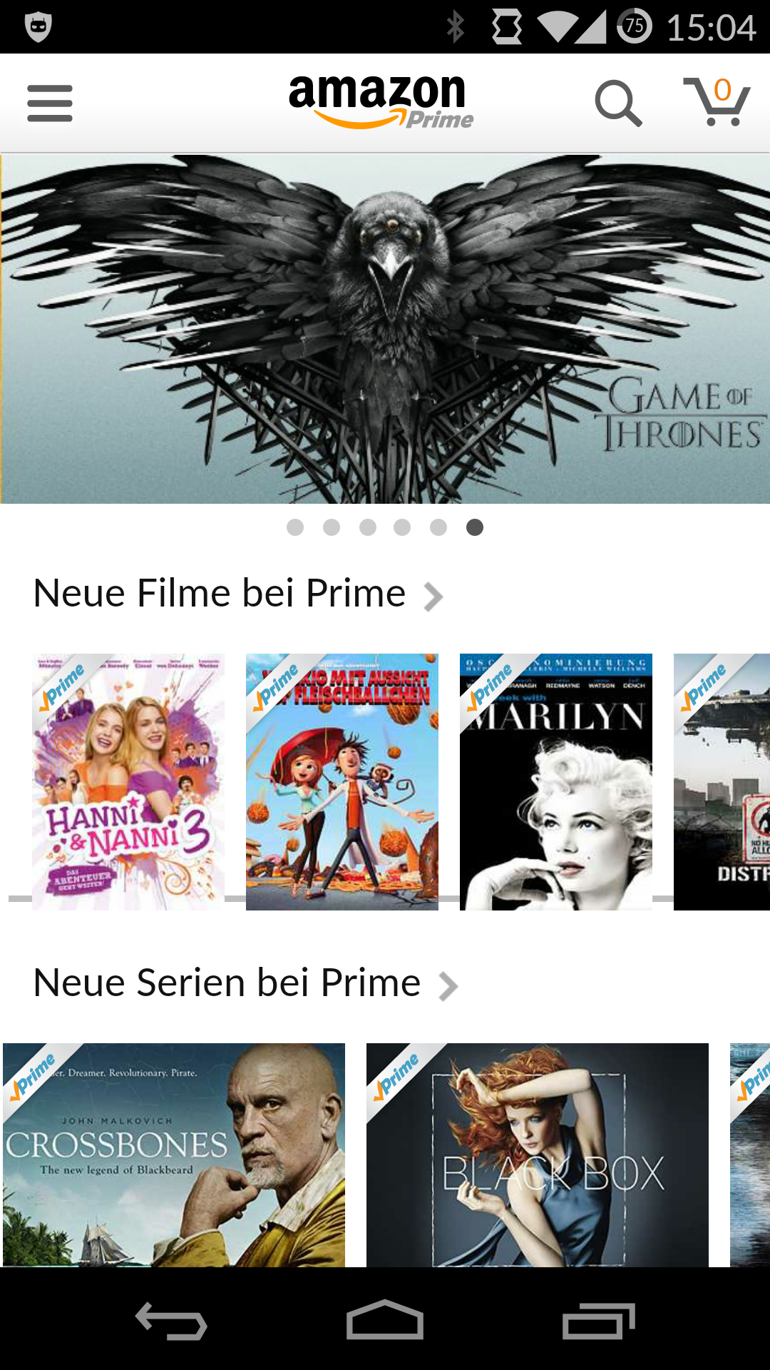 Amazon stellt Prime Instant Video App für Android vor