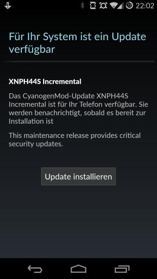 OPO CM 11S 44S OTA Update