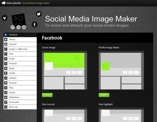 AP Social Media Image Maker