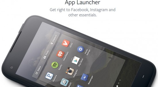 Facebook Home App Launcher