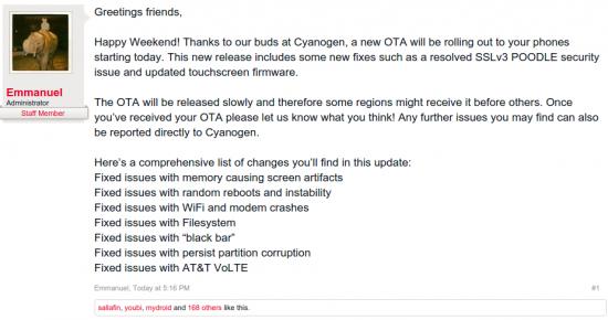 Änderungen in Update 44S für das OPO