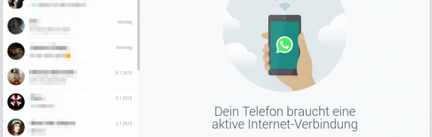 WhatsApp Web-Client