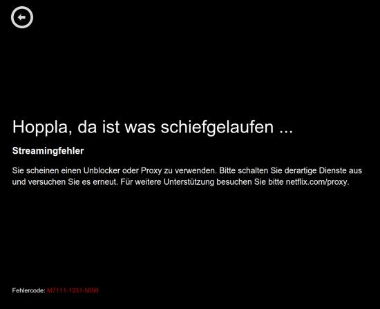 Netflix Geo-Block