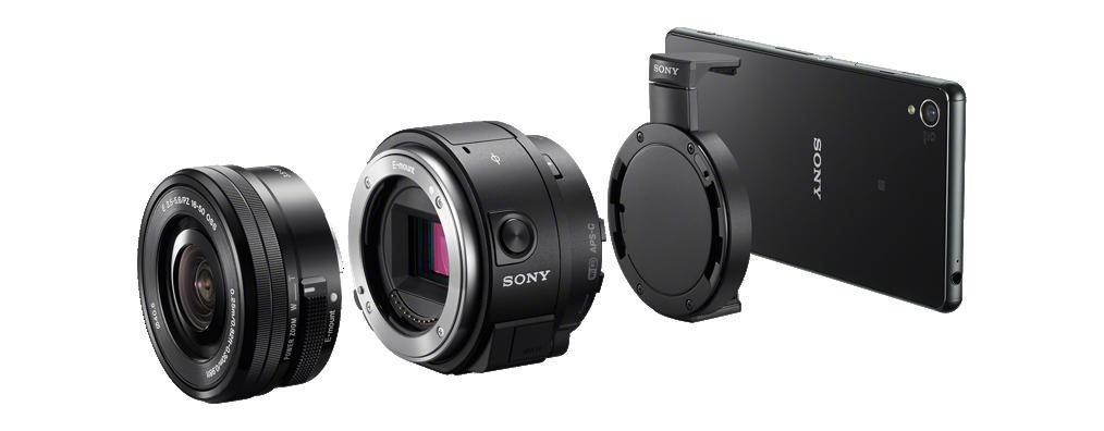 Sony QX1 – Lens-Style Kamera mit APS-C Sensor!