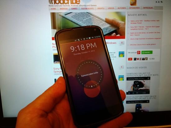 Ubuntu Touch auf dem Nexus 4