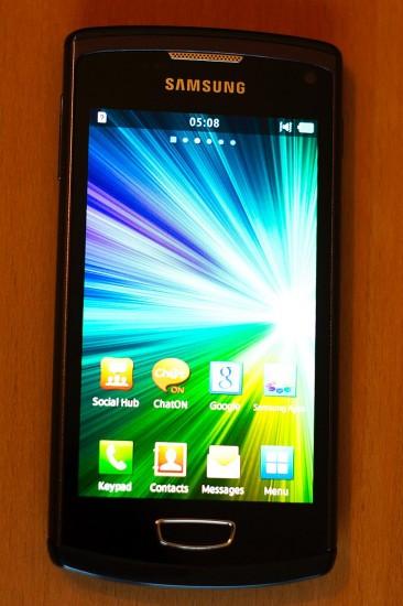 Samsung Wave 3 Vorderseite