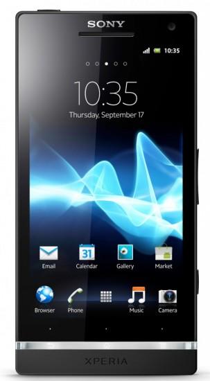 Sony Xperia S - Frontansicht (Bild: Xperia Blog)