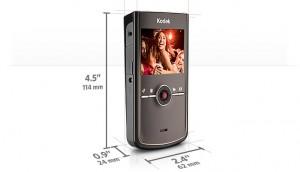Kodak Zi8 Abmessungen