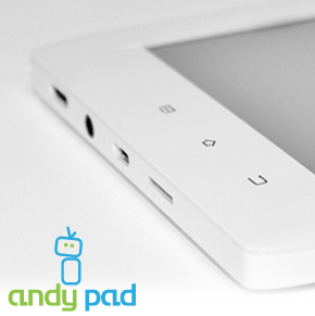 Andy Pad 7 Inch Tablet Teaser