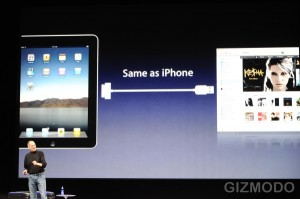 Apple iPad (Foto: Gizmodo)