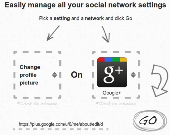 BlissControl: Auswählen was geändert werden soll, in welchem Netzwerk und los geht es...