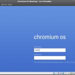 Chromium OS Anmeldung