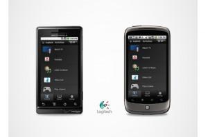 Google TV Android App von Logitech