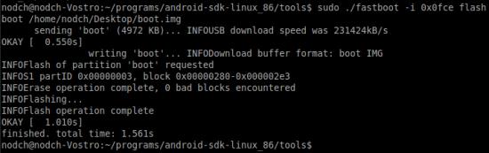 Fastboot Xperia PLAY unter Ubuntu 11.04