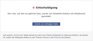 Facebook sperrt Bit.ly Links