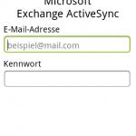 Mailclient mit Exchangeunterstützung