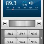 LG GT540 Optimus FM Radio
