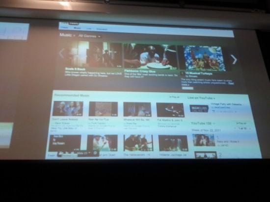 GTUG Zürich YouTube Music Präsentation