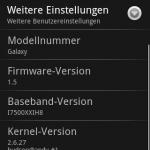 Samsung Galaxy IH8 Update