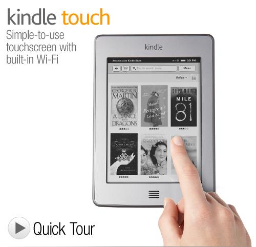 Amazon Kindle Touch