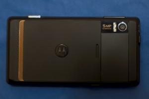 Motorola Milestone Rückseite