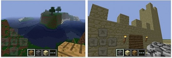Minecraft Pocket Edition (Screenshot via aptgetupdate.de)
