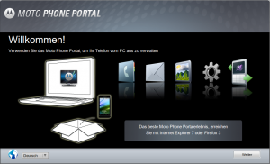 Moto Phone Portal