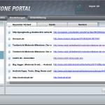 Moto Phone Portal Verlauf