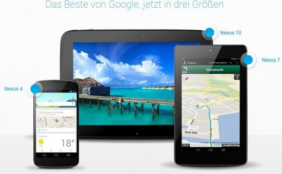Google Nexus Portfolio