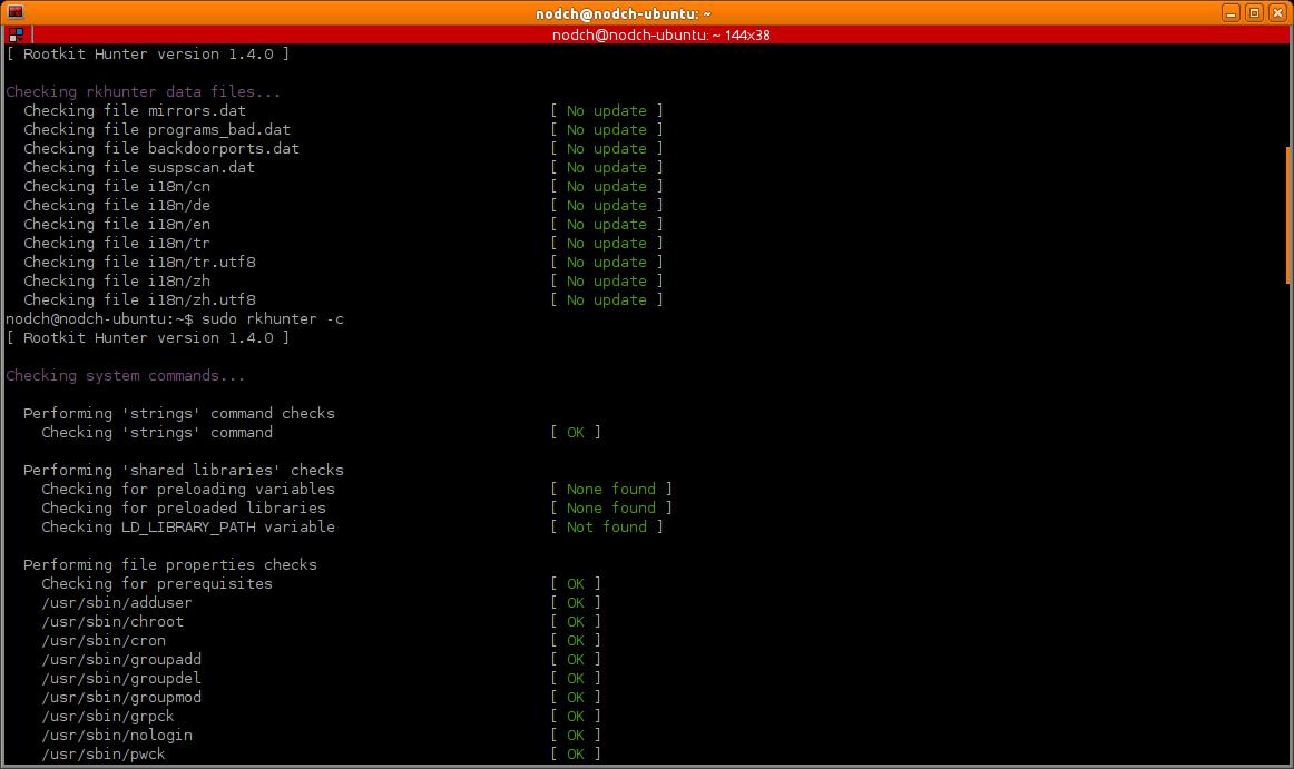 Rootkit Hunter für Ubuntu