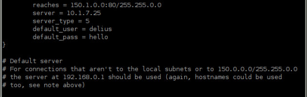 tsocks Config Ubuntu