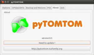pyTOMTOM Linux