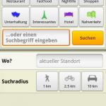 Skobbler Android POI Umkreissuche